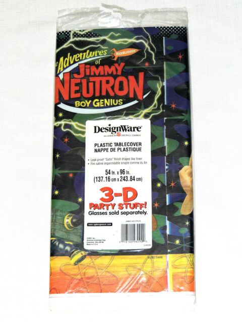 5f76dbb9906 JIMMY NEUTRON TABLECLOTHS Boy Genius Table Covers 54 X 96 for sale ...
