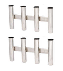 Cross Bollard Solid Polished 316 Stainless Steel 90x90x60mm for Boat Decks