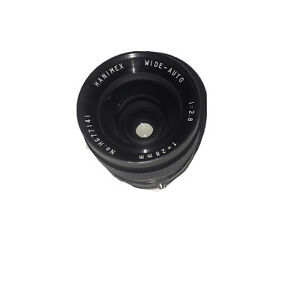 Hanimex-Wide-Auto-1-28-F-28mm-No-H6771416-Lens-For-Zenit-12S-As-Is-Untested