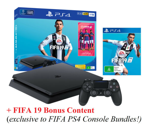 198d3a4f7 FIFA 19 Edition 1TB Playstation 4 Game Console PS4 Video Game System Game  Bundle