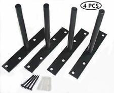 "Blind Shelf Supports 4 pcs RigMore 6/"" Solid Steel Floating Shelf Bracket"