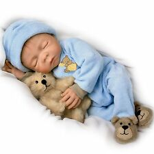 Sweet Dreams, Baby Jacob Ashton Drake Doll By Denise Farmer 18 inches