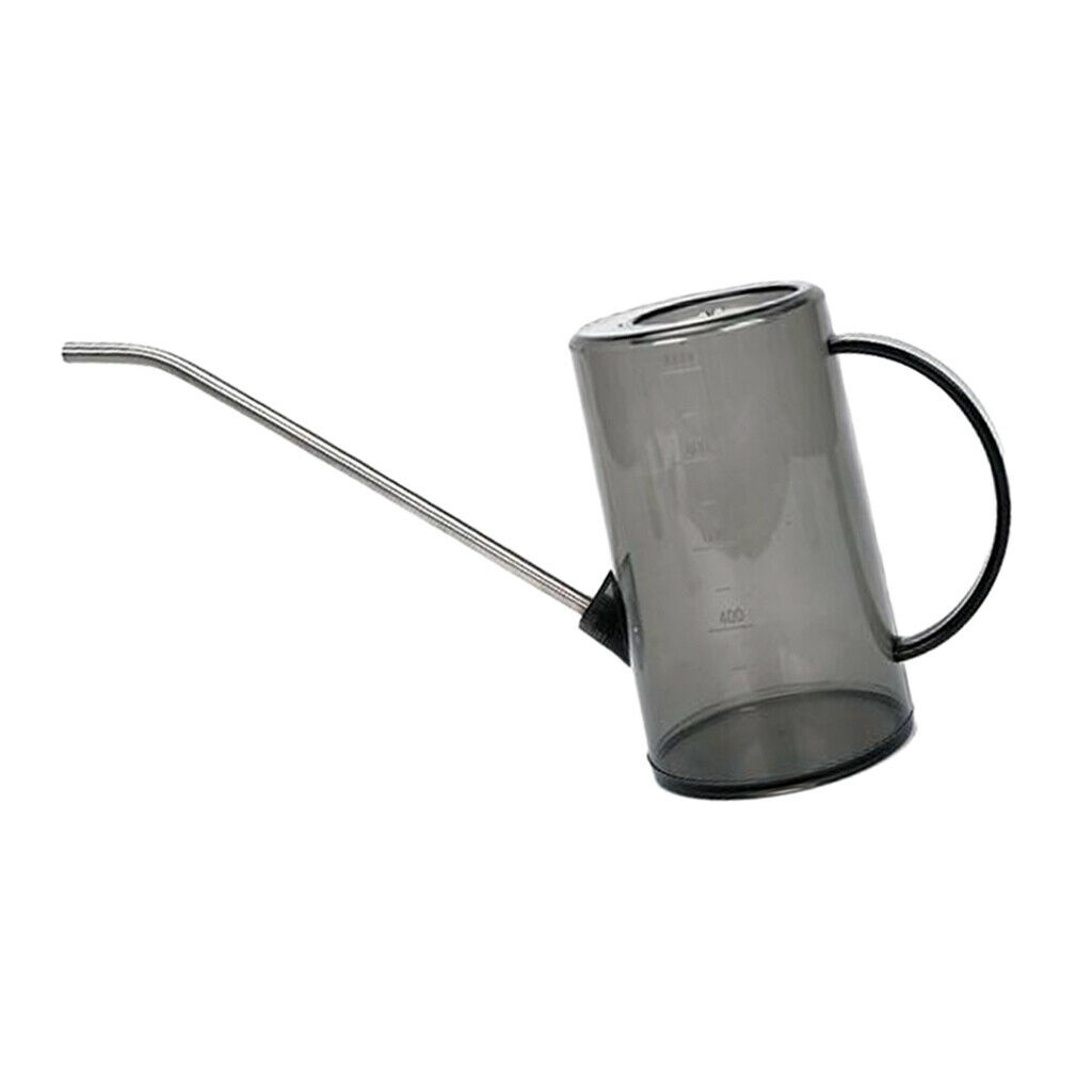 1L Durable ABS Garden Home Steel Long Mouth Watering Can Indoor/ Outdoor
