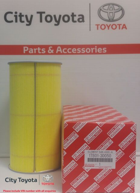 New Toyota Genuine Air Filter Hiace 1/05-2014 1780130050