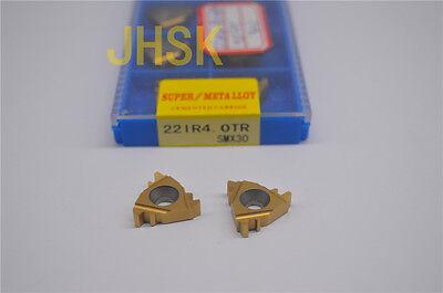 10p 22IR4.0TR SMX35 CNC lathe Threading Turning   Carbide Inserts Blades