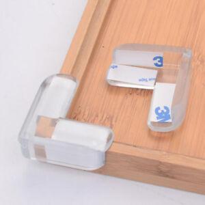 2/10Pcs Baby Safety Table desk Edge Corner Cushion Guard Strip Bumper Protector
