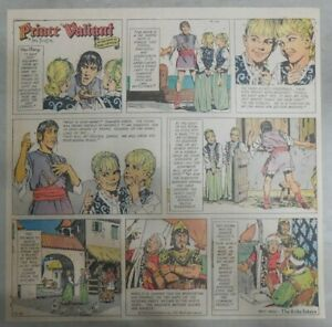 Prince-Valiant-Sunday-by-Hal-Foster-from-12-5-1971-2-3-Full-Page-Size