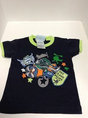 Carter's 18 Month Navy Blue Graphic Planes & Pilot T-shirt Euc Grade Products According To Quality Outfits & Sets