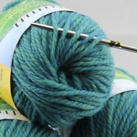 Sale new soft warm 1 BallX50g Chunky Thick Wool Hand Knitting Yarn Celtic Green