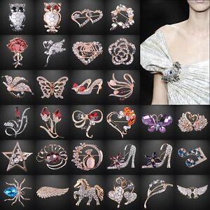 Fashion-Crystal-Jewelry-Wedding-Bridal-Rhinestone-Women-Bridal-Wedding-Brooch