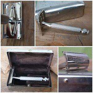 Rasoio-di-sicurezza-Gillette-safety-razor-Gillette-Box-Made-in-England
