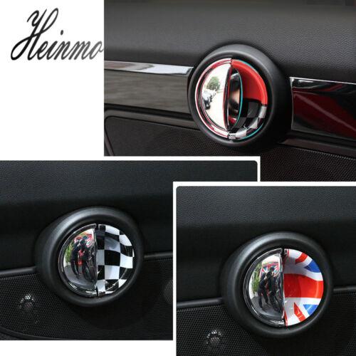 2 x Union Jack UK Flag Car Door Handle Cover Cap For BMW MINI Cooper F54 F55 F56