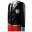 Danganronpa V3 Killing Harmony Yumeno Himiko Cosplay Costume Uniform with Hat