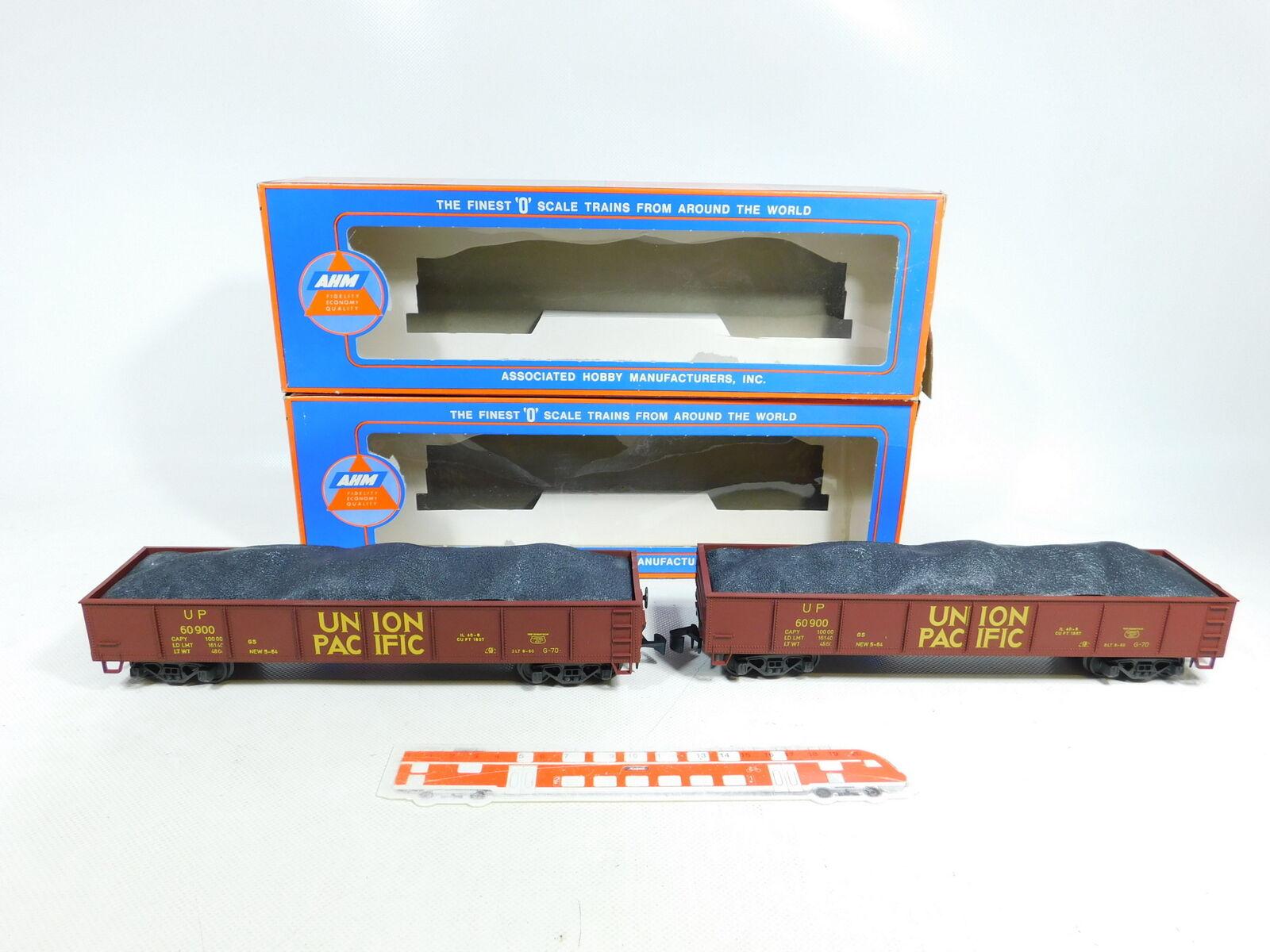 BX225-3#2x Ahm Traccia 0 / Dc 7304 B Us Usa-Gondola con Kohle-Ladegut Up,Nuovo +