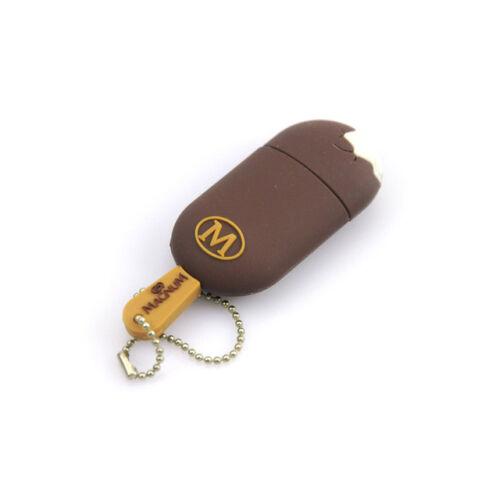 Xmas Gift Ice Cream Cartoon 32GB 64GB USB 2.0 Storage Memory Stick Flash Drive