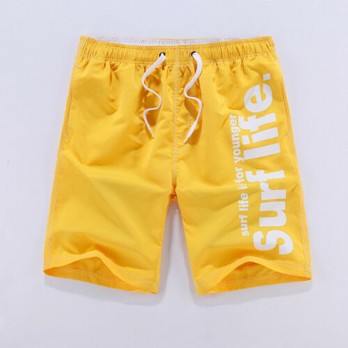 Men/'s Surf Shorts Board Casual  Beach Summer Swim Trunks Quick dry UK Seller