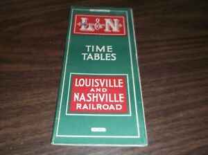 JUNE-1943-L-amp-N-LOUISVILLE-AND-NASHVILLE-SYSTEM-PUBLIC-TIMETABLE-SCARCE-WWII-ISSUE