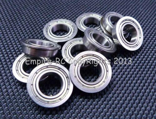 MF148ZZ 10 Teile Metallabschirmung Flansch Ball Lager MF148 MF148z 8x14x4 MM
