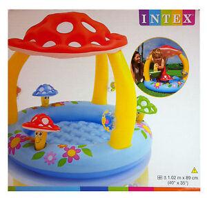 intex baby kinder pool planschbecken kinderpool mit pilz. Black Bedroom Furniture Sets. Home Design Ideas