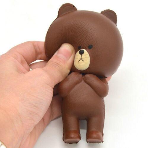 Straps /& Kawaii Toy Langsam steigende Squishy Squeeze Stress Reliever Toy #E0Y