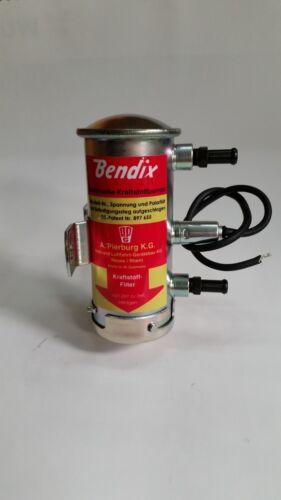 Abarth 1000 2000 Bendix style fuel pump *NEW ZINC PLATED* Fiat