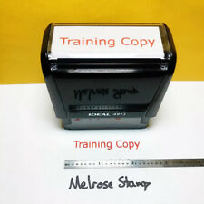 New Listingtraining Copy Rubber Stamp Red Ink Self Inking Ideal 4913