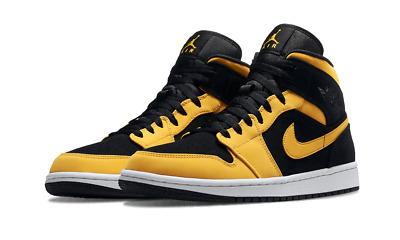air jordan 1 noir et jaune