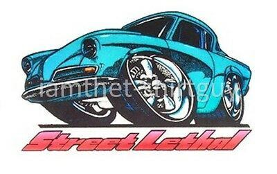 1933 /& 1941 WILLYS 1953 1954 STUDEBAKER COUPE PRO MOD DRAG CARS T-SHIRT ER003