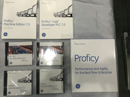 GE PROFICY CD and Manual 7.0,8.6 version