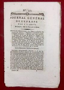Journal-general-de-l-Europe-1792-Isere-Embrun-Chambery-Savoie-Metz-Valenciennes