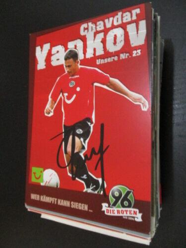 64135 Chavdar Yankov 06-07 Hannover 96 original signierte Autogrammkarte