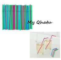 Ikea Soda Flexible Drinking Straws Multi Color Pack Of 200 Party Wedding