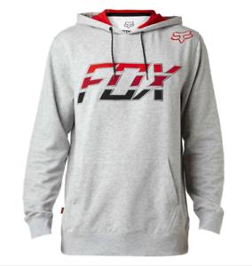 grijs fleece brancard 040 xl Fox Pull Racing over X 18868 Lrg hoodie volwassen nqIgxz8w4I