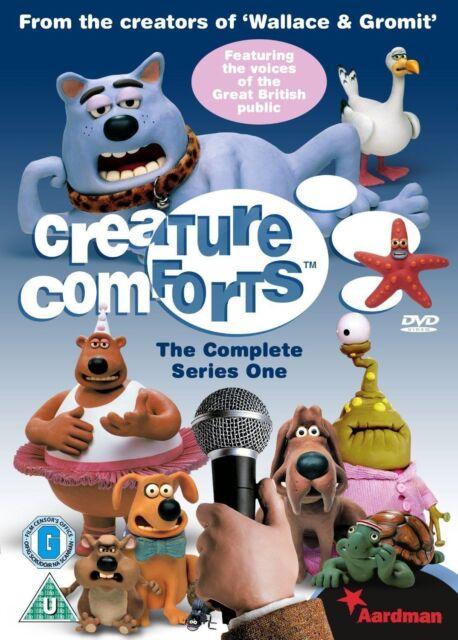Creature Comforts Complete Series 1 DVD All Episodes David Rafiqu New UK Release