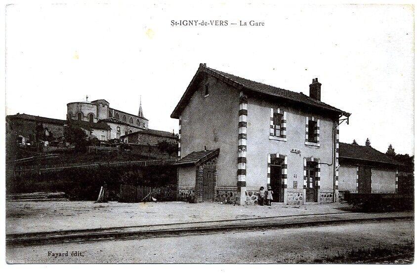 (S-66431) FRANCE - - - 69 - ST IGNY DE VERS CPA      FAYARD ed. dddebb