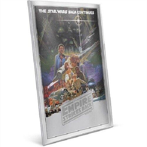 Niue Premium 35 grams Silver Foil! Star Wars The Empire Strikes Back 2018