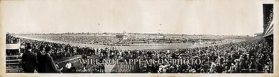 "1941 Kentucky Derby Churchill Downs Louisville KY, 25"" Vintage Panoramic Photo"