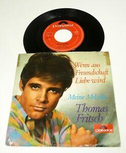 THOMAS FRITSCH Wenn aus Freundschaft Liebe wird 1966