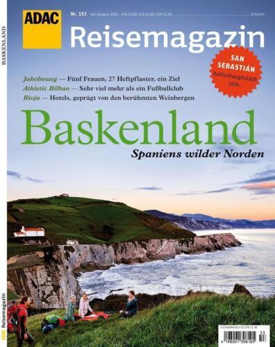 1 von 1 - ADAC Reisemagazin Baskenland (2016, Taschenbuch)
