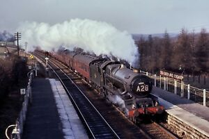 30520 British Rail 6x4 Quality Steam Rail Photo