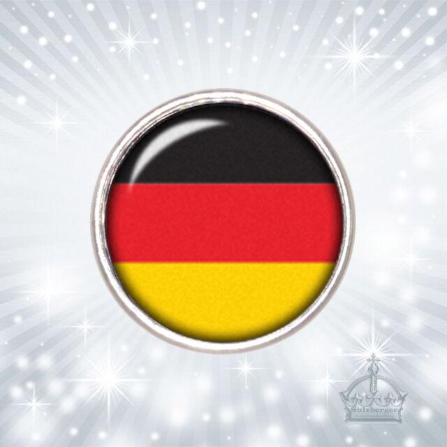 Deutschland Fahne Flagge Click Button Druckknopf kompatibel m. Chunks Sy   CB806