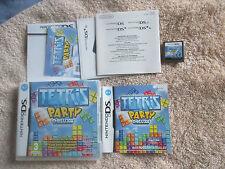 Tetris Party Deluxe / CIB (Nintendo DS, 2010) DSI 2DS 3DS