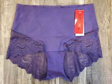 Spanx Undie-tectable Black Lace Hi-Hipster Panty 3095 Size Large