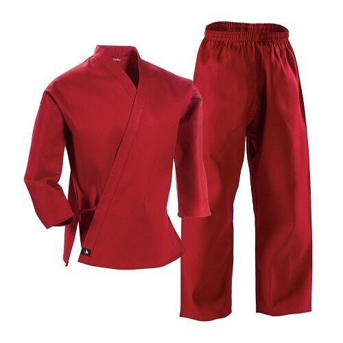 Red Complete Student Martial Arts Uniform Great for Taekwondo /& Karate