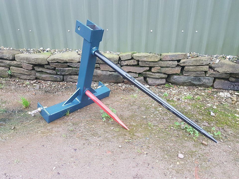 AGRI-FABS BALE SPIKE WITH SISTER SPIKE, FREE DELIVERY & 2 YR WARRANTY LOW PRICE