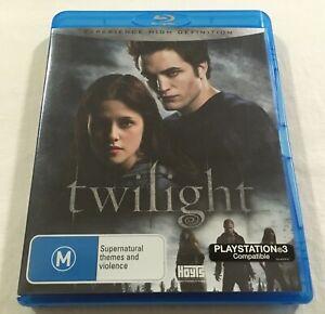 Twilight-2008-Blu-Ray-Region-Free-VGC-Kristen-Stewart-Robert-Pattinson