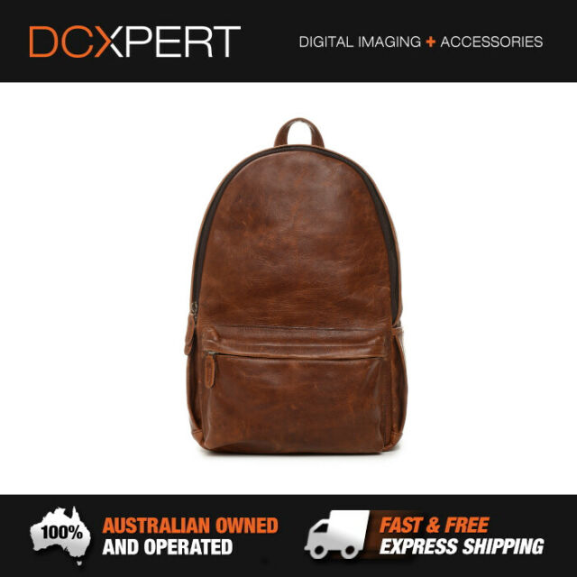 ONA CLIFTON ITALIAN LEATHER BACKPACK (ANTIQUE COGNAC) (ONA046LBR)