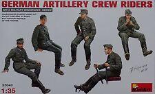 MINIART #35040 WWII German Artillery Crew Riders Figuren in 1:35