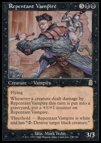 Odyssey *Rare Vampir* MTG 4x REPENTANT VAMPIRE