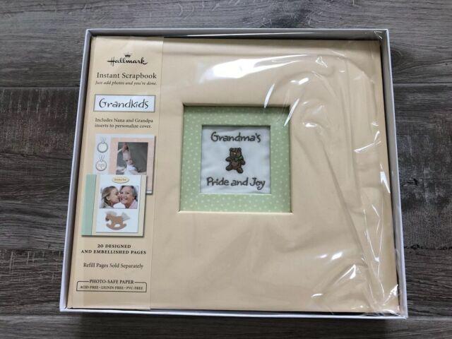 Hallmark Grandchildren//Grandparent Yellow 8x8 Instant Scrapbook Album Stickers